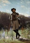 Ivan Nikolaevich Kramskoi Portrait of the painter Ivan Shishkin oil painting