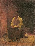 Jonathan Eastman Johnson The Lord is my Shepard oil painting artist