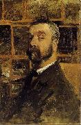Mauve, Anton Self-portrait oil painting artist