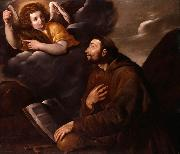 Pasquale Ottino Saint Francis and the Angel oil