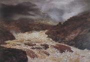 Peter Graham Spate in the Highlands oil