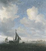 Saloman van Ruysdael View of Alkmaar oil painting artist
