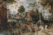 Sebastian Vrancx The Battle of Stadtlohn oil painting artist