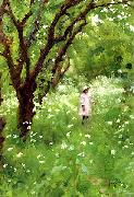 Thomas Cooper Gotch The Orchard oil