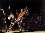 Willem Cornelisz Duyster Carnival Clowns oil painting artist