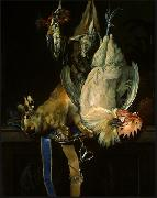 Willem van Aelst Still Life with Dead Game oil painting artist