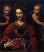 Bernardino Lanino Saint Catherine oil painting