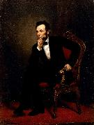George P.A.Healy Abraham Lincoln oil painting artist