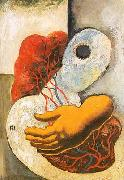 Ismael Nery Inner view  Agony oil painting