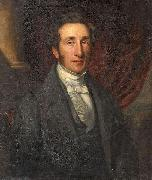 John Ponsford Portrait of a gentleman. Signed and dated Ponsford 1842 oil