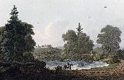 John William Edy Ulivold, the Seat of John Collett, Esq. oil painting reproduction