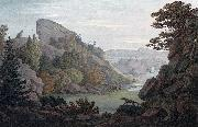 John William Edy Valley in Heliesund oil painting reproduction