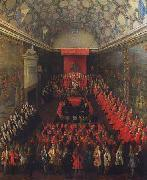 Peter Tillemans Queen Anne addressing the House of Lords oil painting reproduction