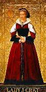 Richard Burchett Lady Jane Grey oil painting artist