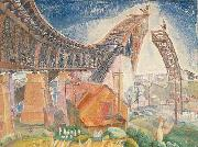 Walter Granville Smith The Bridge in Curve oil painting artist