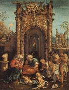 ASPERTINI, Amico The Adoration of the Shepherds oil painting artist