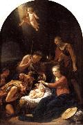 Adriaen van der werff The Adoration of the Shepherds oil painting