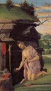 Alessandro Botticelli St.Jerome oil