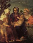 Andrea del Sarto Madonna and Child with St.Catherine oil painting picture wholesale