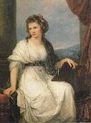 Angelica Kauffmann Self-Portrait oil painting