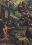 Annibale Carracci The Assumption of the Virgin oil