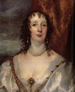 Anthony Van Dyck Details of Anna Dalkeith,Countess of Morton, and Lady Anna Kirk oil painting picture wholesale
