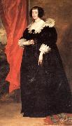Anthony Van Dyck Portrait of Marguerite of Lorraine,Duchess of Orleans oil painting picture wholesale