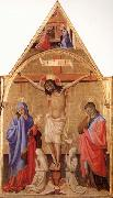 Antonio Fiorentino Crucifixion with Madonna and St.John oil painting picture wholesale