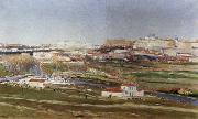 Aureliano De Beruete Y Moret Tthe Outskirts of Madrid oil