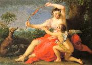 BATONI, Pompeo Diana Cupid oil painting picture wholesale