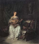 BEGA, Cornelis Lute Player oil