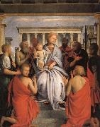 BRAMANTINO Madonna and Child with Eight Saints oil painting picture wholesale