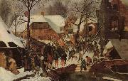 BRUEGHEL, Pieter the Younger Adoration of the Magi oil painting picture wholesale