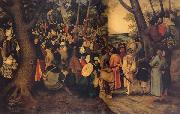 BRUEGHEL, Pieter the Younger The Testimony of John the Baptist oil painting picture wholesale
