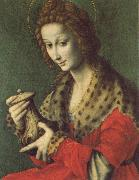 Bachiacca Mary Magdalen oil painting artist