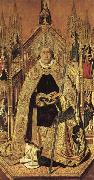 Bartolome Bermejo St.Dominic of Silos oil