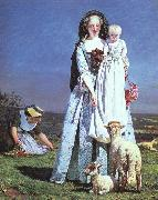 Brown, Ford Madox The Pretty Baa-Lambs oil painting picture wholesale