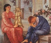 Burne-Jones, Sir Edward Coley The Lament oil painting