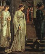 Burne-Jones, Sir Edward Coley The Princess Sabra Led to the Dragon oil painting