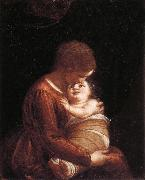 CAMBIASO, Luca Madonna and Child oil