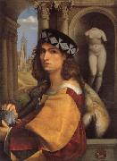 CAPRIOLO, Domenico Portrait of a Gentleman oil