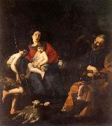 CARACCIOLO, Giovanni Battista The Rest on the Flight into Egypt oil painting picture wholesale