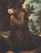 CIGOLI St.Francis in Prayer oil