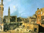 Canaletto The Stonemason\'s Yard oil painting picture wholesale
