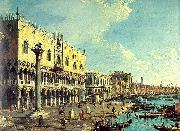 Canaletto Riva degli Schiavoni- Looking East oil painting picture wholesale