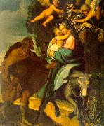 Carducci, Bartolommeo The Flight into Egypt oil painting picture wholesale