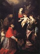 Cerano Madonna and Child with SS.Francis,Charles,and Catherine of Alexandria oil painting artist