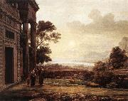 Claude Lorrain The Expulsion of Hagar oil painting picture wholesale