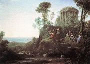 Claude Lorrain Apollo and the Muses on Mount Helion oil painting picture wholesale