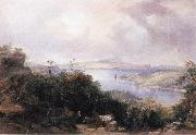Conrad Martens Sydney Harbour Looking Towards the North End oil